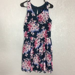 Gap floral sleeveless dress